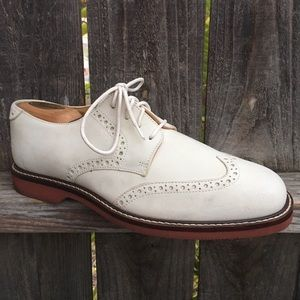 Johnston & Murphy 8.5 wingtip oxford shoes